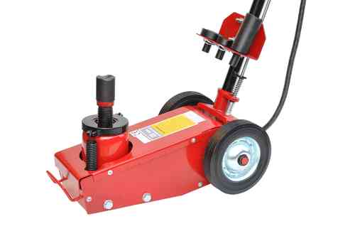 22t floor jack, garage jack, with pneumatic drive, Q22001T, 00021