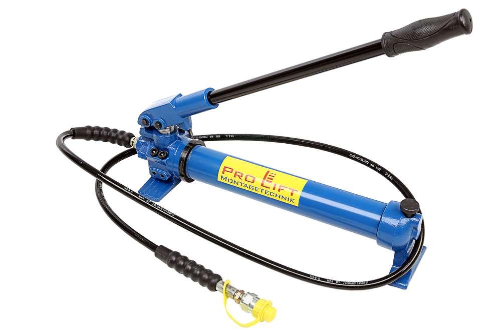 Short Steel Lifting Jack with Manual Hydraulic Pump Car Repairing Set 10T Short Jack with Hydraulic Pump