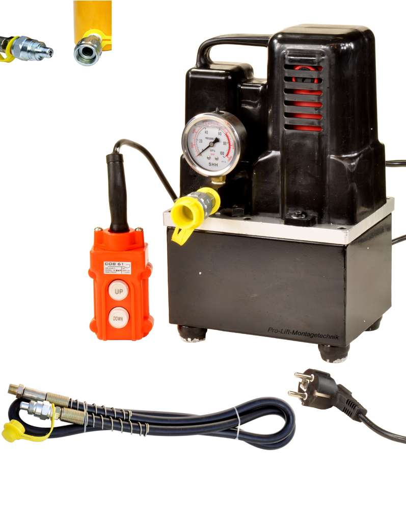 Electric Hydraulic Pump >> 230v Electric Hydraulic Pump 700bar Oil Tank 1800cm 00046 Pro