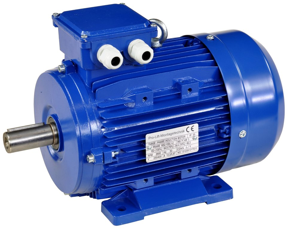 3kw Electric Motor 380v 2900rpm B3 00408 Pro Lift