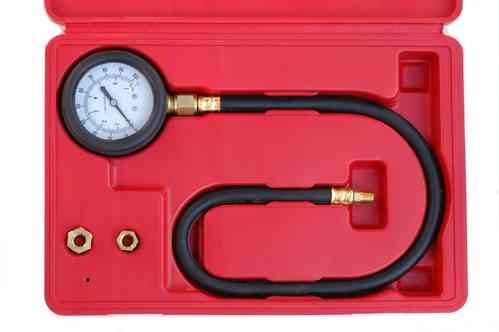 Oil pressure gauge 0-7bar, hose length 60cm, 00495