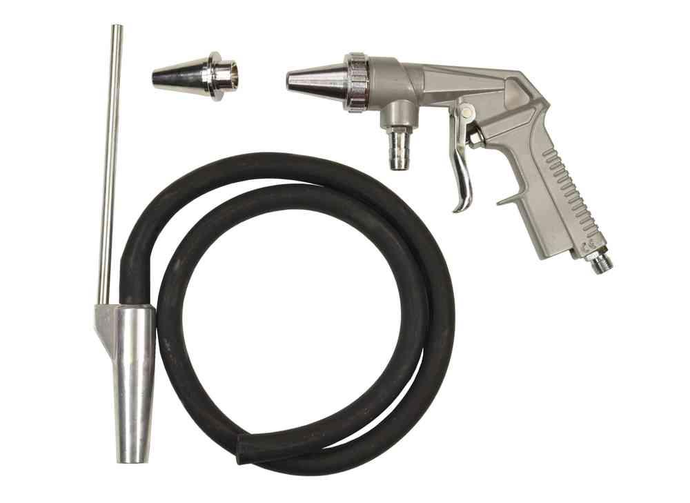 Sandblasting gun with hose, 00497