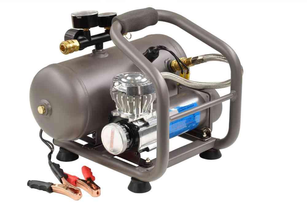 12V Kompressor, 60L/min, 7,2bar, 5Liter Kessel, 00979 - Pro-Lift ...