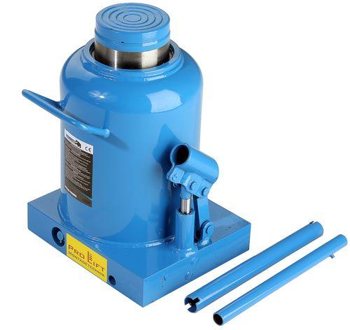 230mm-450mm 01283 Pro-Lift-Montagetechnik 12t Stempelheber Hydraulikzylinder BJ12HJ blau