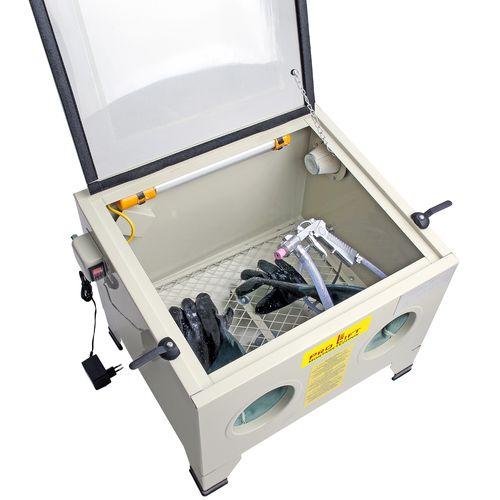 Sandblast cabinet / Ultrasonic cleaner - Pro-Lift-Montagetechnik