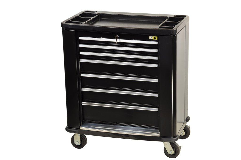werkzeugwagen 7 f cher 2 seitliche t ren 01554 pro lift montagetechnik. Black Bedroom Furniture Sets. Home Design Ideas