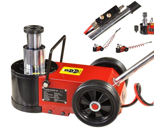 30t/15t floor jack, garage jack with pneumatic drive, T30-2ML, 01693
