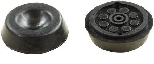 Rubber Load Pad//Rubber Block 40mm Thick For Use With Hoist /& Scissor Lifts