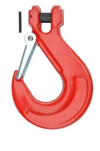 Pro-Lift-Werkzeuge Gabelkopfhaken 6,7t Sicherheitshaken klappbar Kettenhaken Forsthaken Lasthaken Kranhaken f/ür 13mm Kette 6700kg Tragf/ähigkeit